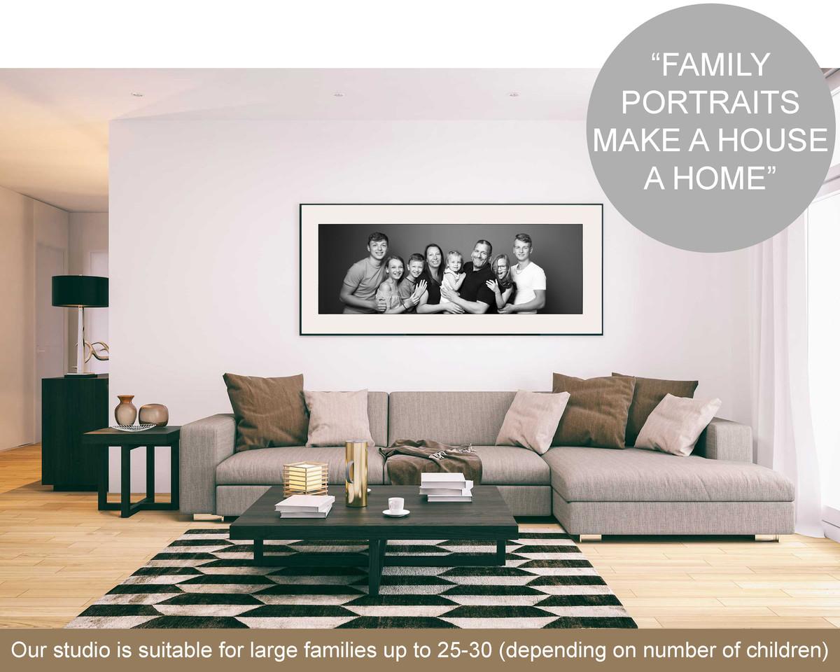 Family Portraits - Hammonds Photography Studio Chelmsford Essex